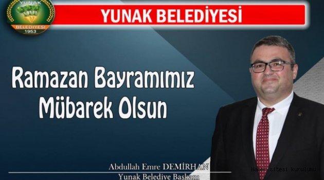 Başkan Demirhan' ın Ramazan Bayramı Mesajı