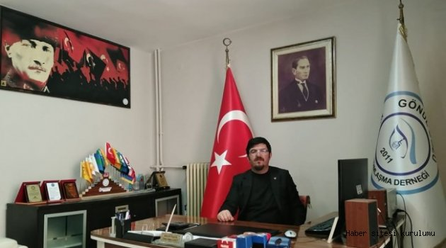"""Başkan Şahin;1919 ruhu, Türk Bilge Kağan'ın, """"Ey Türk! Titre ve kendine dön!"""" buyruğuna uymaktır"""