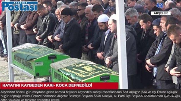 FECİ KAZADA KARI - KOCA HAYATINI KAYBETTİ
