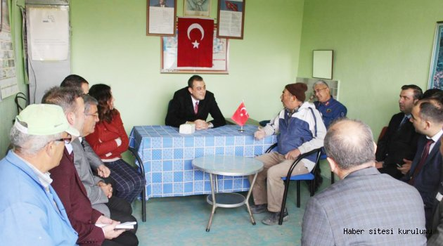 KAYMAKAM AKBULUT'TAN MAHALLE ZİYARETLERİ