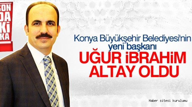 Konya Büyükşehir Altay'a emanet ...