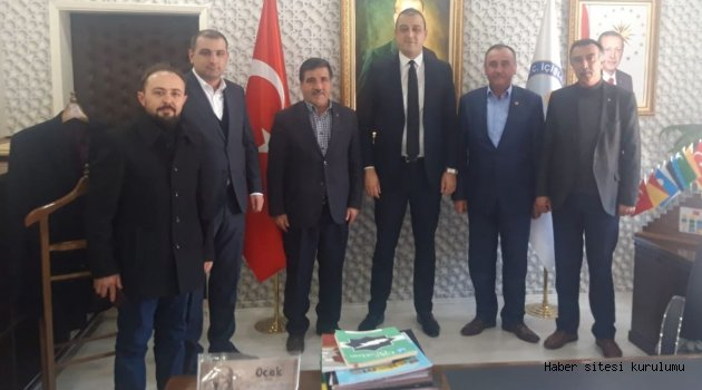 MHP YUNAK'DAN KAYMAKAM AKBULUT'A ZİYARET