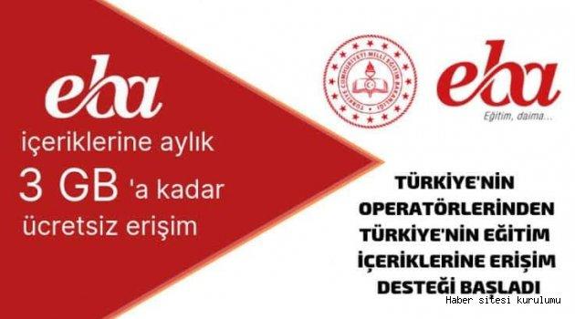 MİLLİ EĞİTİM MÜDÜRÜNDEN VELİLERE 'EBA' ÇAĞRISI