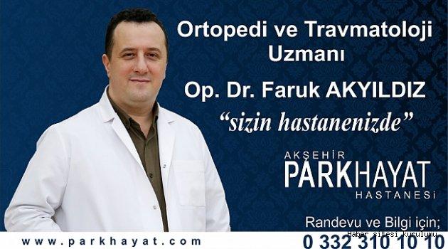 PARKHAYAT'DA İKİNCİ ORTOPEDİ UZMANI HASTA KABULÜNE BAŞLADI