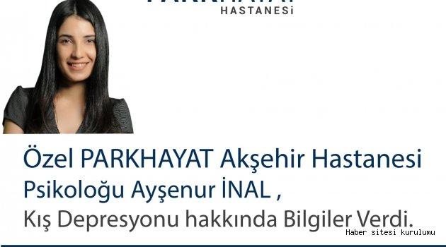 "PSİKOLOG AYŞENUR İNAL UYARDI: ""KIŞ DEPRESYONUNA DİKKAT"""
