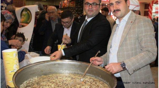 Yunak'ın yöresel tatları  Konya'da tanıtıldı