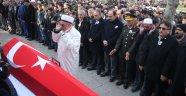 KAZADA ŞEHİT OLAN POLİS MEMURU SON YOLCULUĞUNA UĞURLANDI