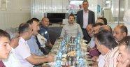 YUNAK MHP'DEN KAYMAKAM ÇIDIROĞLU'NA VEDA YEMEĞİ