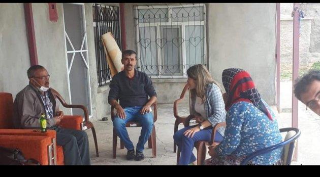 YUNAK AK PARTİ KADIN KOLLARINDAN MAHALLE ZİYARETİ